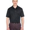 Short Sleeve Polos - Ultra Club (Black)