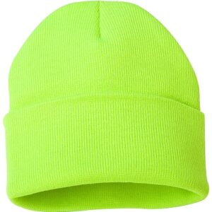 Knit Hat Safety yellow