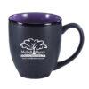 Bistro Mug - Black & Purple