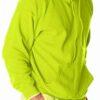 Hooded Sweatshirt - Safety Yellow