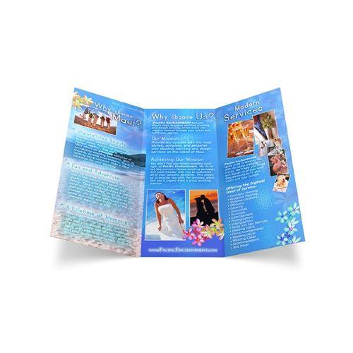 tri-fold brochure company in va