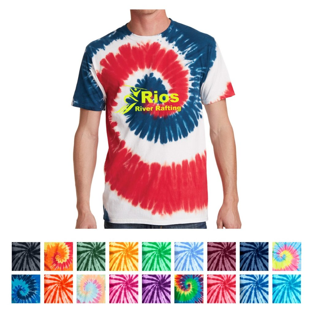 Tie-Dye T-Shirt Printing in VA and MD