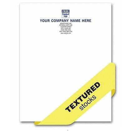 textured letterhead printing company