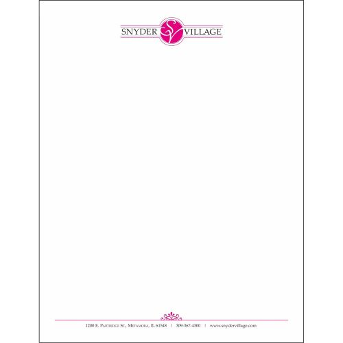 full color letterhead printing in maryland